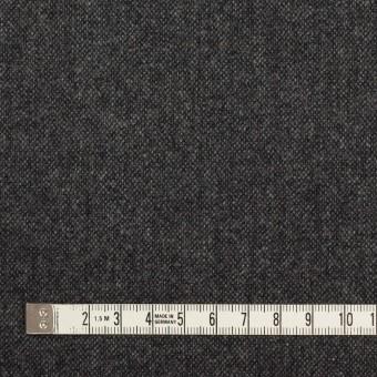 ウール&ナイロン混×無地(チャコールグレー)×ツイード サムネイル4