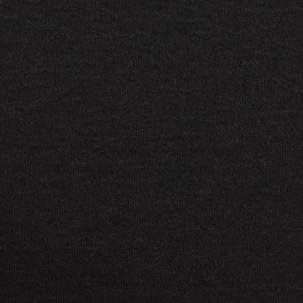 ウール×無地(ブラック)×スムースニット
