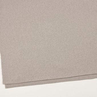 ウール&ポリエステル混×無地(グレイッシュベージュ)×かわり織_イタリア製 サムネイル2