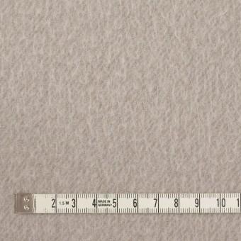 ウール&ポリエステル混×無地(グレイッシュベージュ)×かわり織_イタリア製 サムネイル4