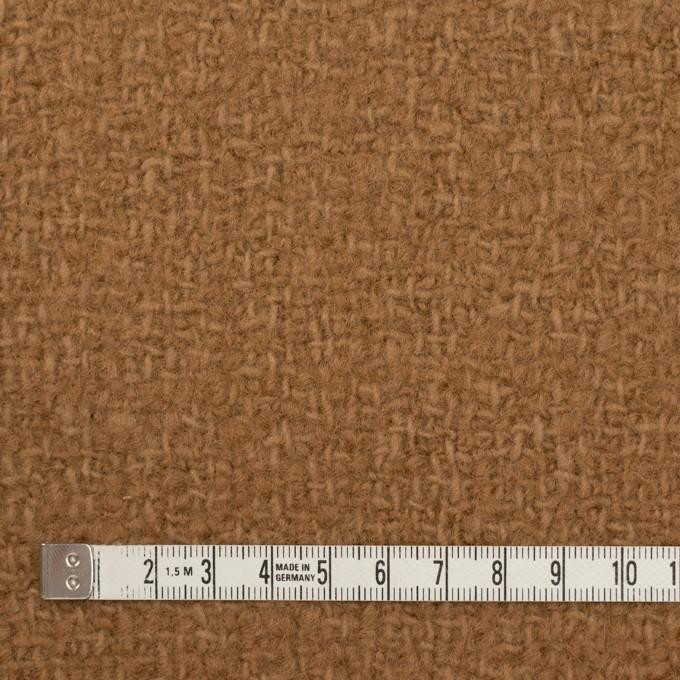 ウール×無地(シナモン)×かわり織 イメージ4