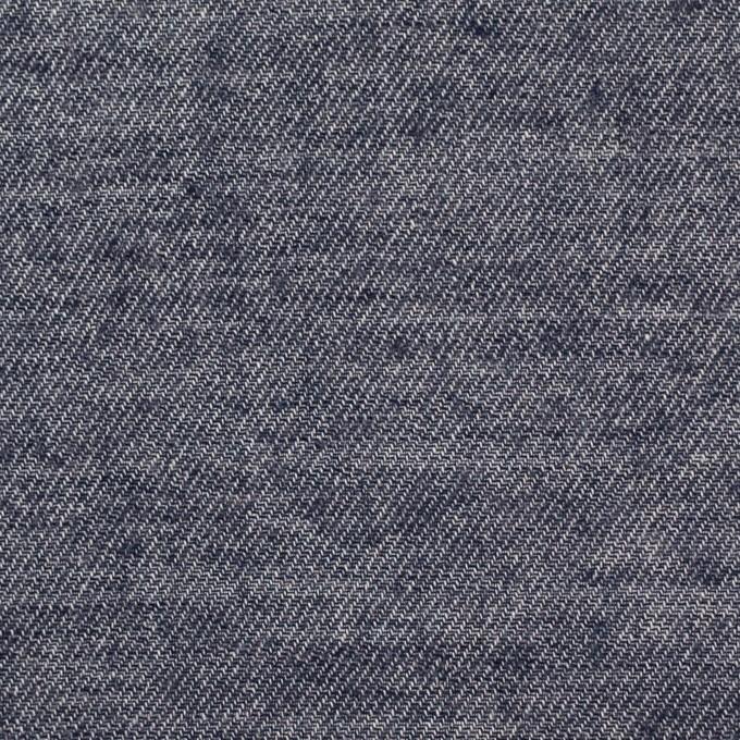 コットン&ウール×無地(ネイビー)×ビエラ イメージ1