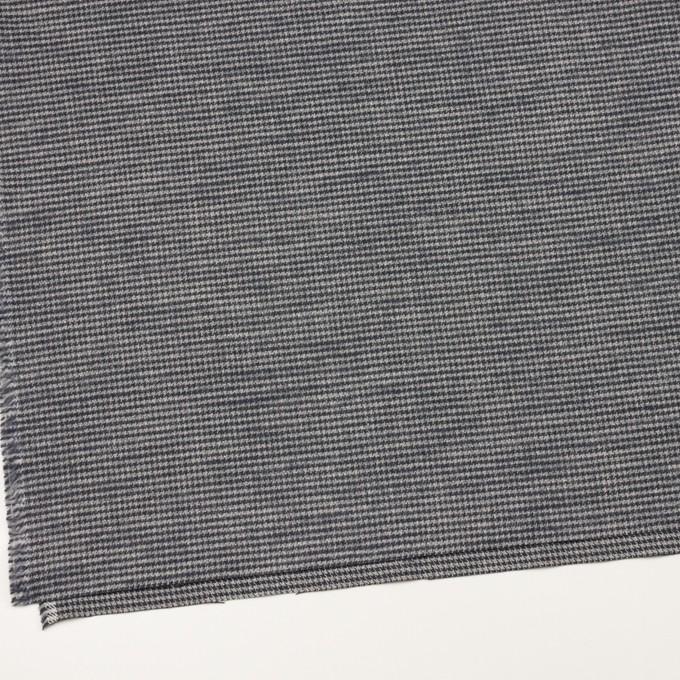 コットン×チェック(グレー&グレープグレー)×千鳥格子 イメージ2