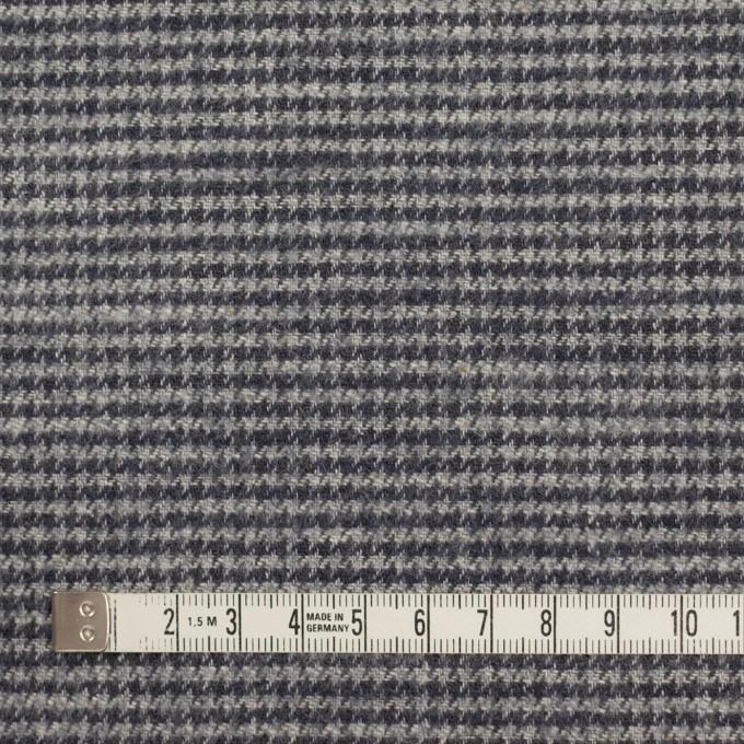 コットン×チェック(グレー&グレープグレー)×千鳥格子 イメージ4