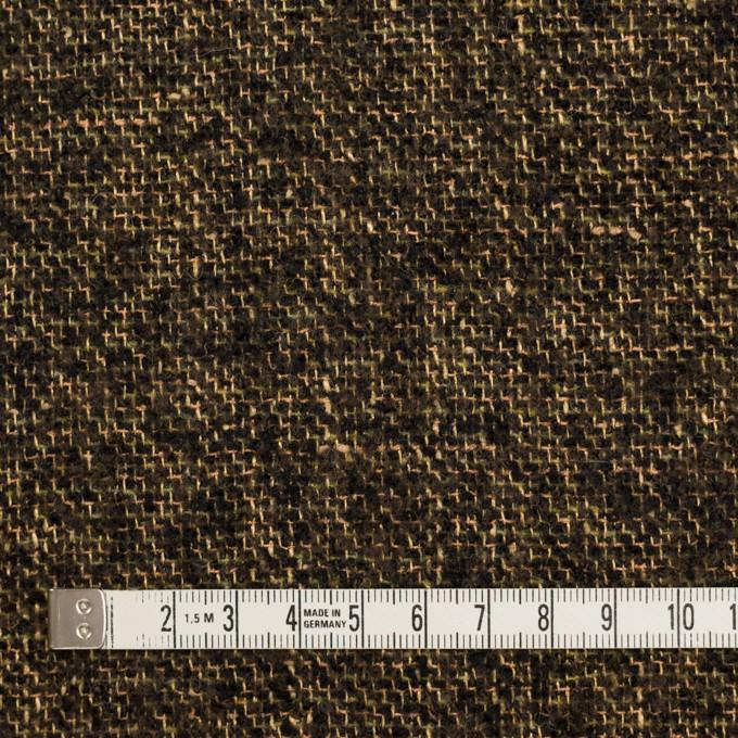 ウール&テンセル×ミックス(アンティークゴールド&ブラック)×ファンシーツイード イメージ4