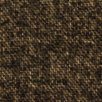 ウール&テンセル×ミックス(アンティークゴールド&ブラック)×ファンシーツイード サムネイル1