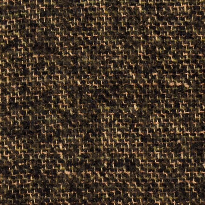 ウール&テンセル×ミックス(アンティークゴールド&ブラック)×ファンシーツイード イメージ1
