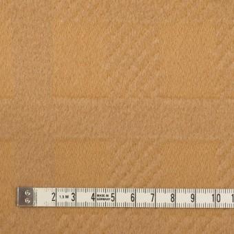 ウール&アンゴラ×チェック(キャメル)×ビーバージャガード_全2色 サムネイル4