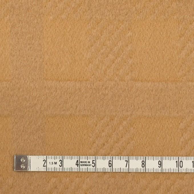 ウール&アンゴラ×チェック(キャメル)×ビーバージャガード_全2色 イメージ4
