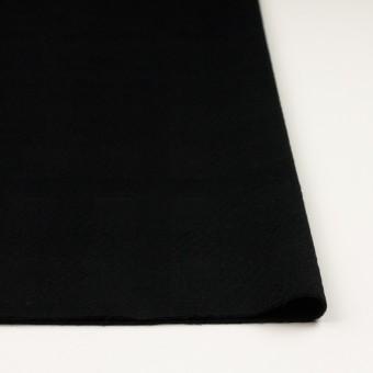 ウール&アンゴラ×チェック(ブラック)×ビーバージャガード_全2色 サムネイル3