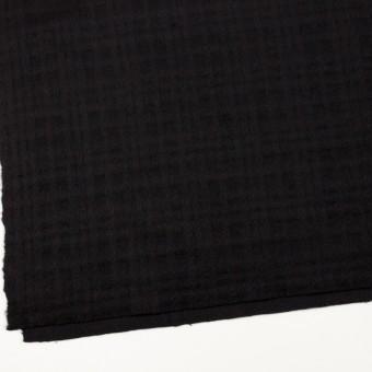 ウール×チェック(ブラック)×ビーバージャガード サムネイル2