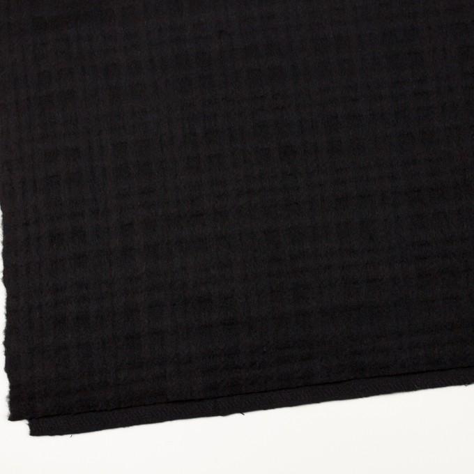 ウール×チェック(ブラック)×ビーバージャガード イメージ2