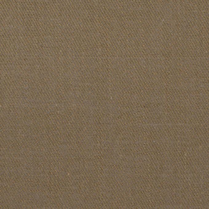 コットン&ウール×無地(カーキ)×ビエラ イメージ1