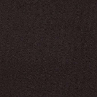 コットン&ポリウレタン×無地(ダークブラウン)×フランネル・ストレッチ