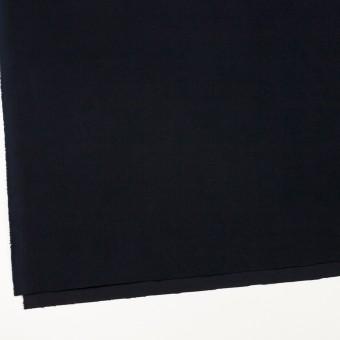 コットン&ポリウレタン×無地(ダークネイビー)×フランネル・ストレッチ_全2色 サムネイル2
