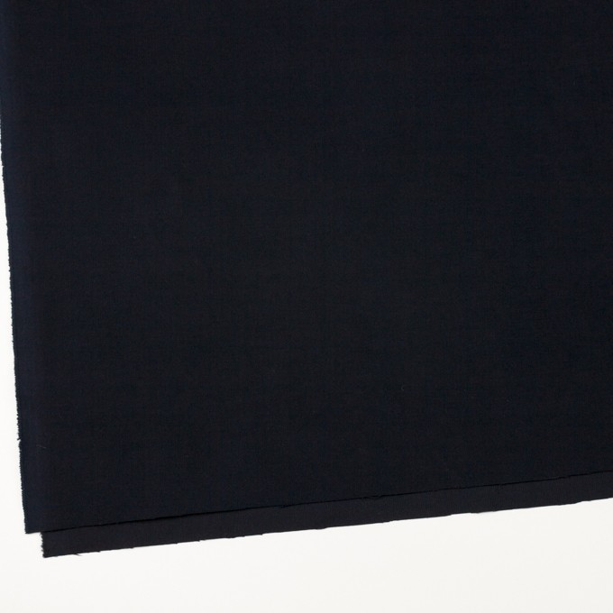 コットン&ポリウレタン×無地(ダークネイビー)×フランネル・ストレッチ_全2色 イメージ2