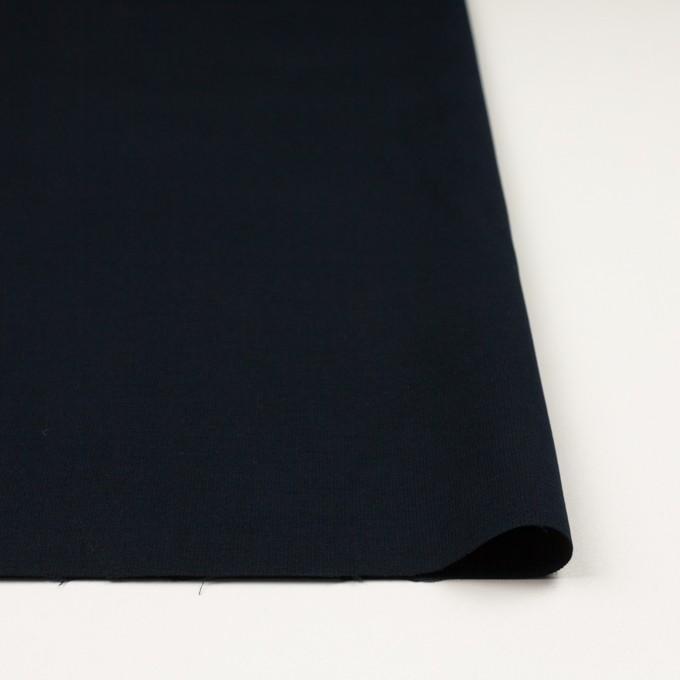 コットン&ポリウレタン×無地(ダークネイビー)×フランネル・ストレッチ_全2色 イメージ3