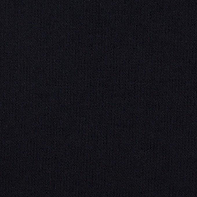 コットン&ポリウレタン×無地(ダークネイビー)×フランネル・ストレッチ_全2色 イメージ1