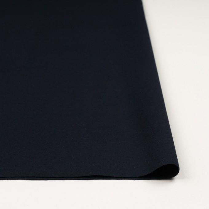 コットン×無地(ダークネイビー)×フランネル イメージ3