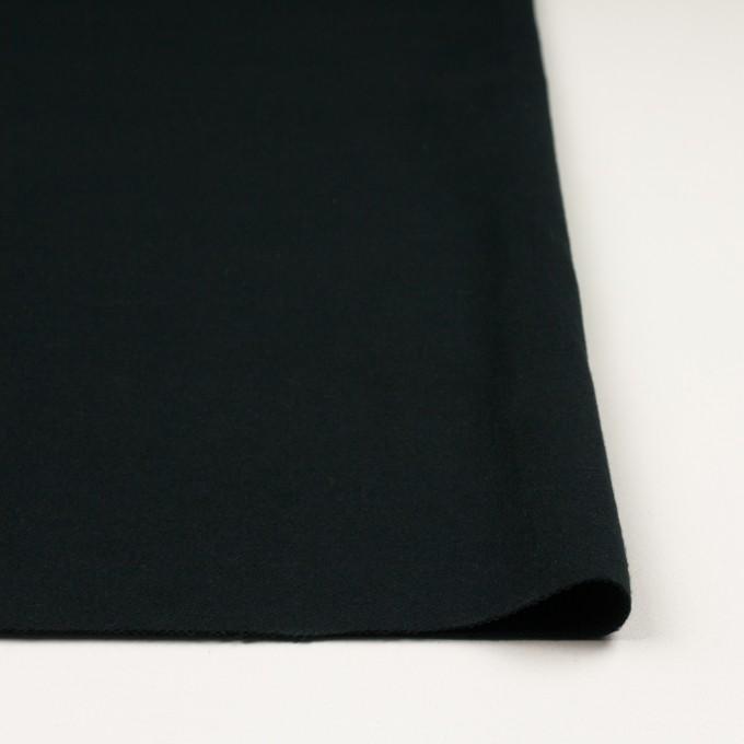 コットン×無地(ブラック)×フランネル イメージ3