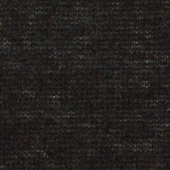 アクリル&ナイロン混×無地(チャコールブラック)×メッシュニット