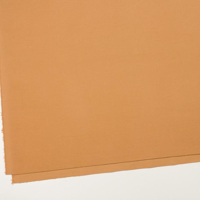 コットン&ポリウレタン×無地(ペルシアンオレンジ)×ビエラストレッチ_全3色 イメージ2