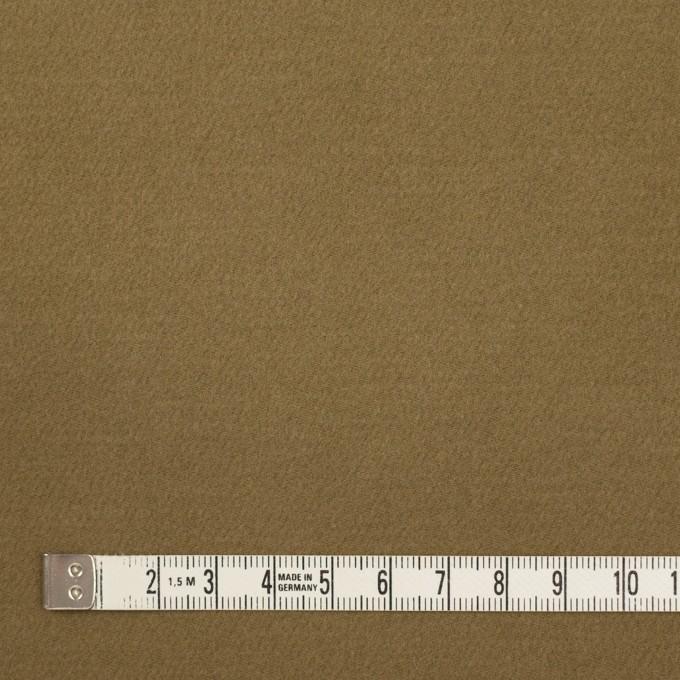 コットン&ナイロン×無地(カーキ)×フランネル_イタリア製 イメージ4