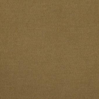 コットン&ナイロン×無地(カーキ)×フランネル_イタリア製