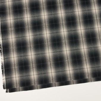 コットン×チェック(キナリ&チャコールブラック)×ビエラ サムネイル2