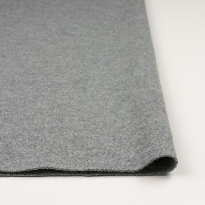 ウール&ナイロン×無地(グレー)×圧縮ニット イメージ3