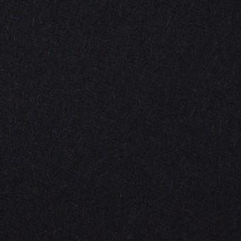 ウール×無地(ブルーブラック)×フラノ(フランネル)