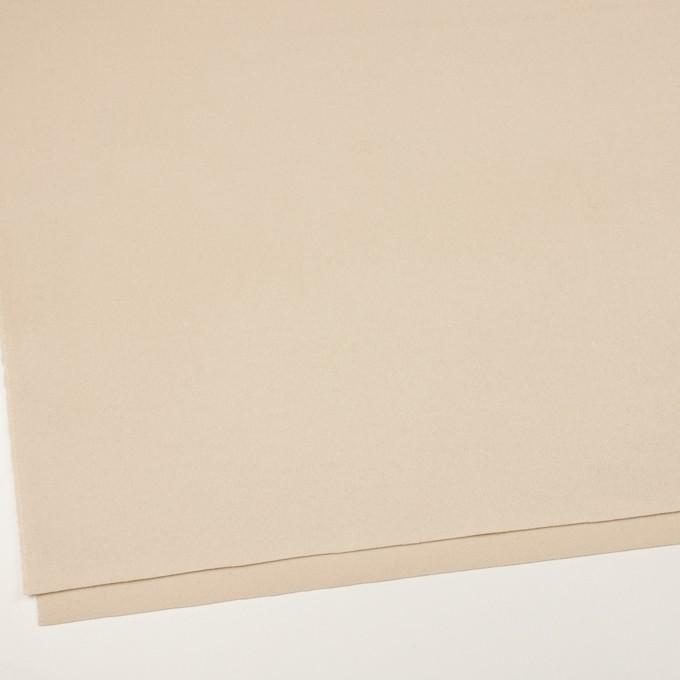 ウール×無地(バニラ)×ビーバー イメージ2