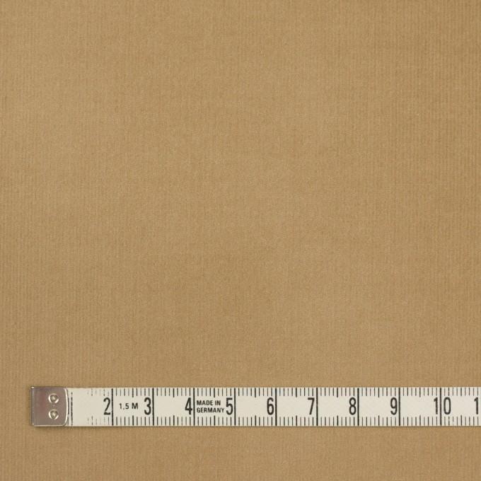 コットン&ポリウレタン×無地(カーキベージュ)×細コーデュロイ・ストレッチ イメージ4