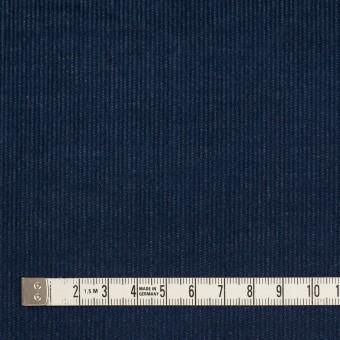 コットン&ポリウレタン×無地(ネイビー)×細コーデュロイ・ストレッチ サムネイル4