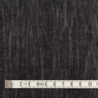コットン&メタル×無地(チャコール)×ベッチンワッシャー_イタリア製 サムネイル4