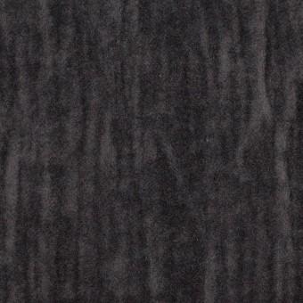 コットン&メタル×無地(チャコール)×ベッチンワッシャー_イタリア製 サムネイル1