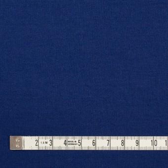 リヨセル&アクリル混×無地(マリンブルー)×Wニット サムネイル4
