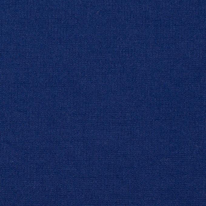 リヨセル&アクリル混×無地(マリンブルー)×Wニット イメージ1