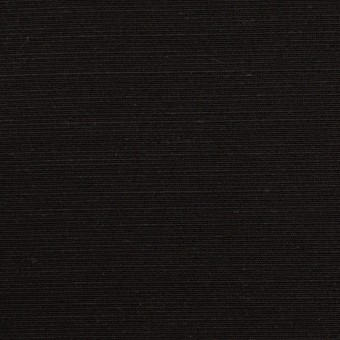 シルク×無地(ブラック)×Wシャンタン