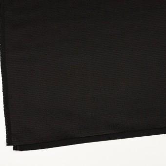 シルク&レーヨン×無地(ブラック)×かわり織 サムネイル2