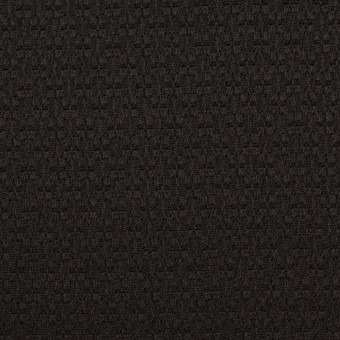 シルク&レーヨン×無地(ブラック)×かわり織