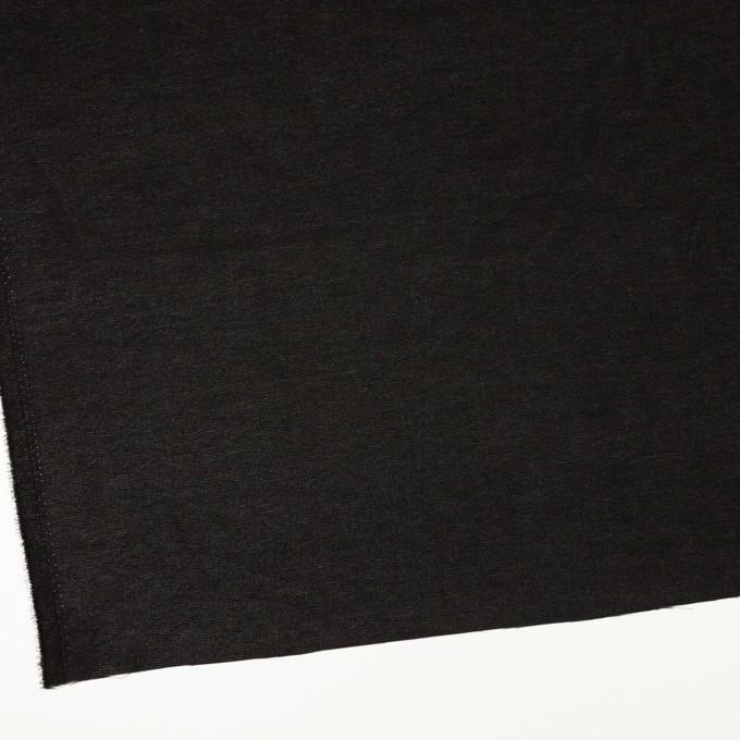 ポリエステル×無地(ブラック)×ジョーゼット イメージ2