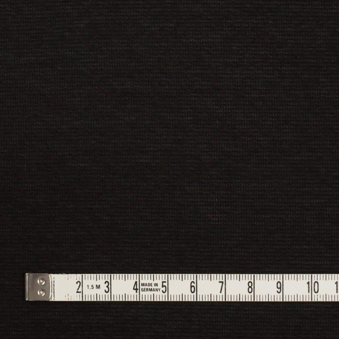 ポリエステル×無地(ブラック)×ジョーゼット イメージ4