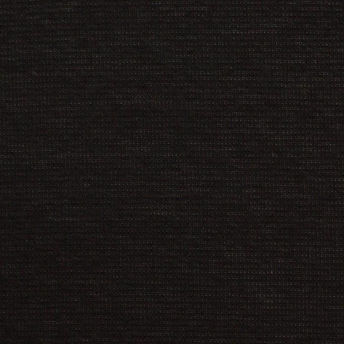 ポリエステル×無地(ブラック)×ジョーゼット イメージ1