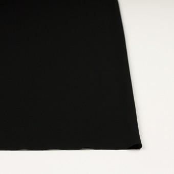 ポリエステル×無地(ブラック)×ジョーゼット サムネイル3