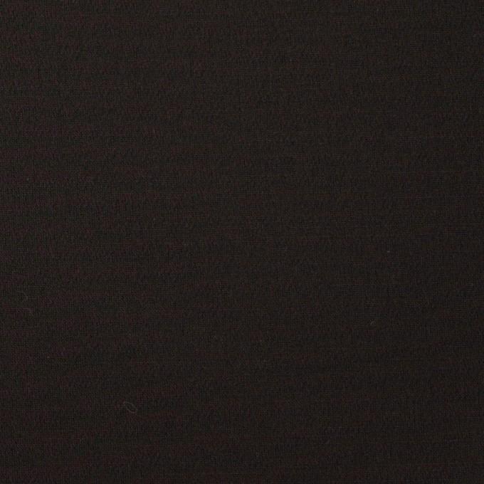 ウール&シルク混×無地(ブラック)×オーガンジー_イタリア製 イメージ1