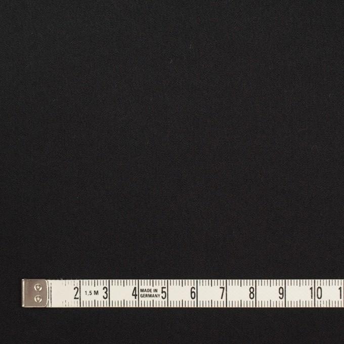 ポリエステル×無地(ブラック)×サテン イメージ4