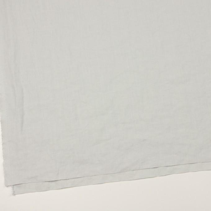 リネン×無地(ペールグレー)×薄キャンバス_全25色 イメージ2