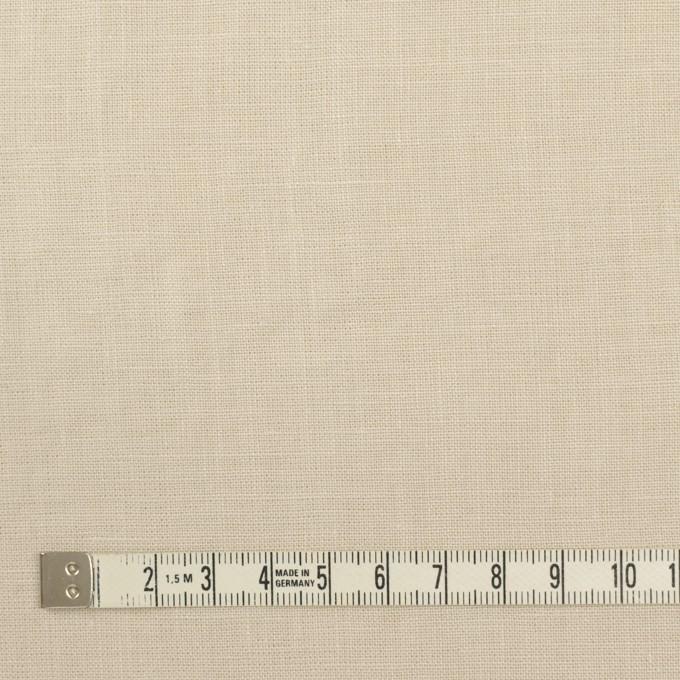 リネン×無地(マッシュルーム)×薄キャンバス_全25色 イメージ4