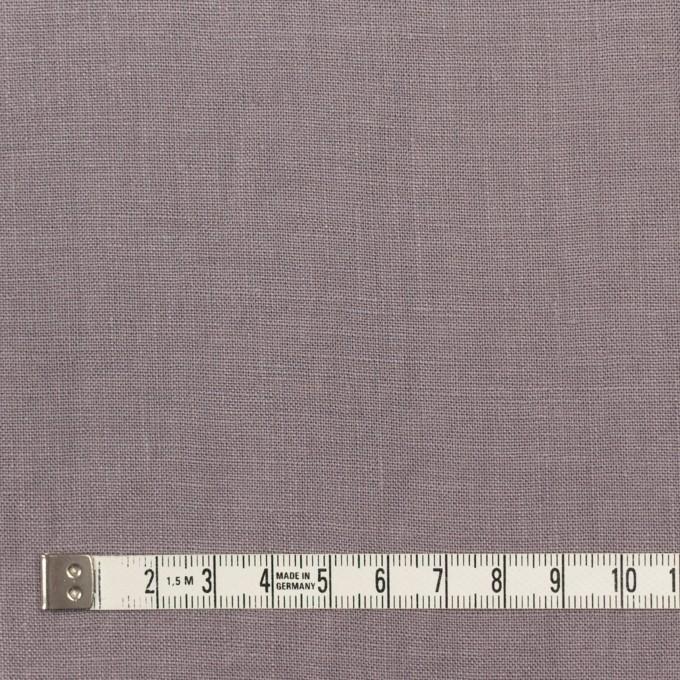 リネン×無地(スモーキーパープル)×薄キャンバス_全20色 イメージ4
